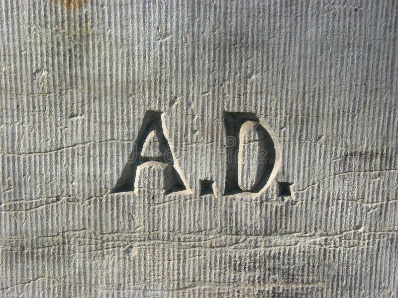 Anno Domini arkivfoton