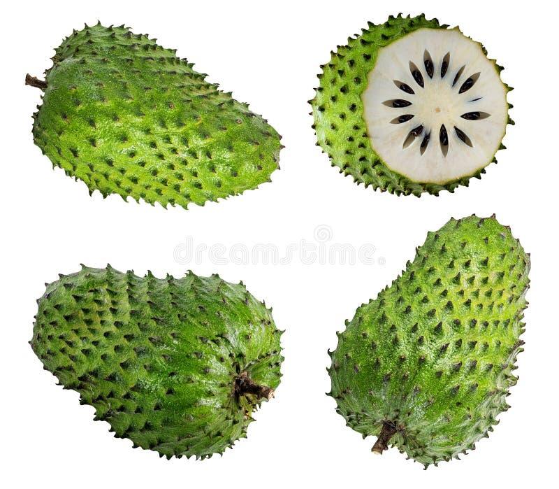 Annona Muricata Плодоовощ Soursop стоковое изображение