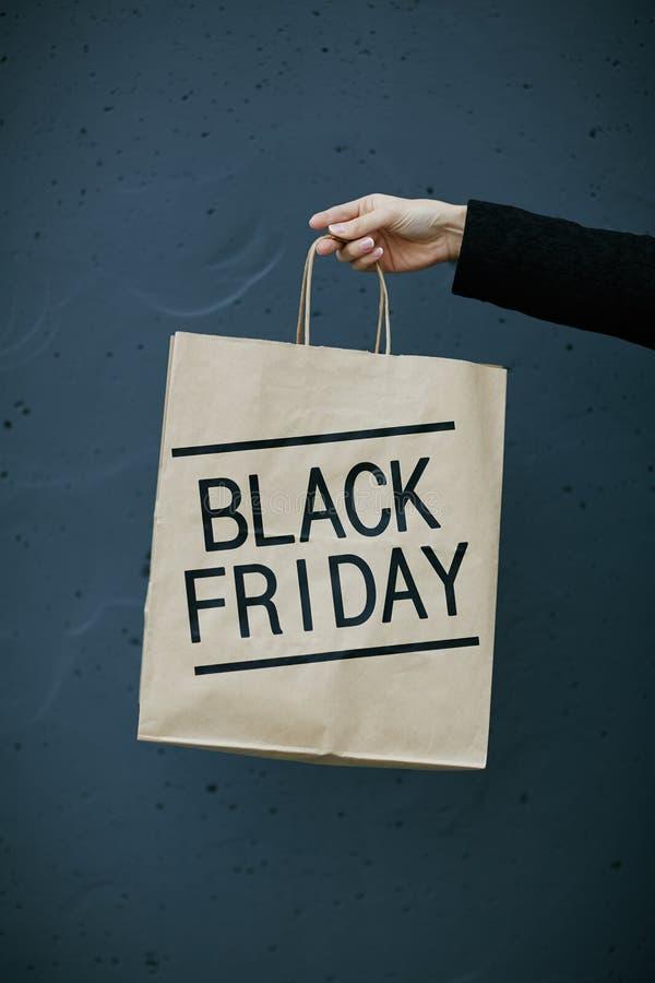 Annonce de Black Friday photographie stock