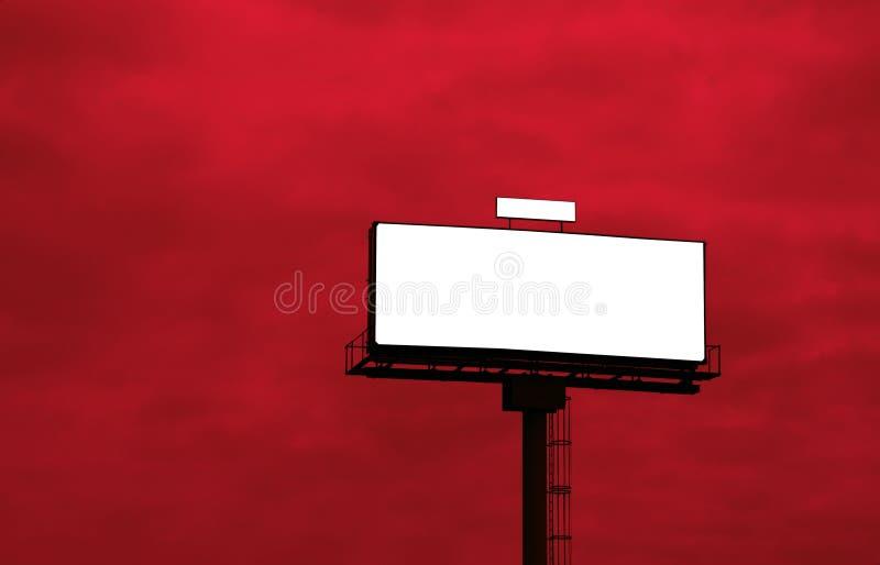 annonsera den utomhus- affischtavlan royaltyfria foton