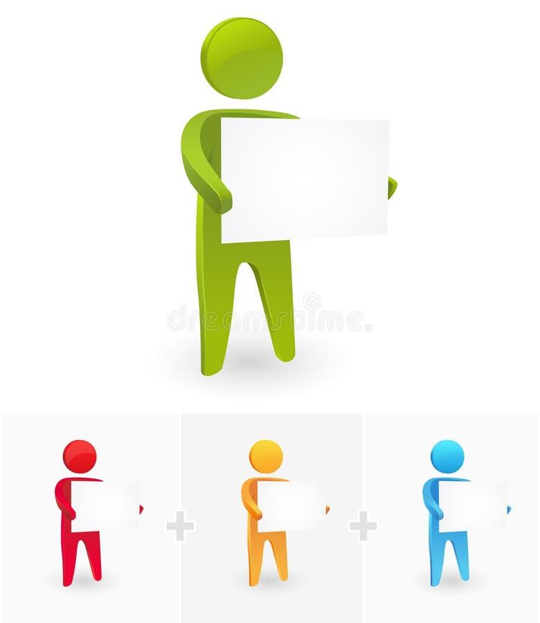 annonsering vektor illustrationer
