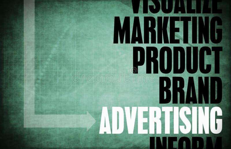 Annonsering stock illustrationer
