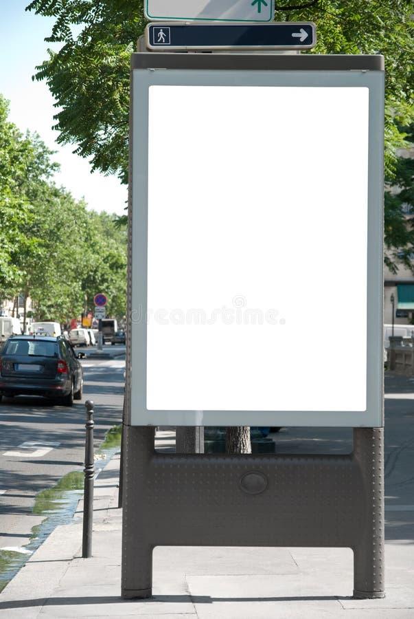 annonsering av brädet arkivbilder