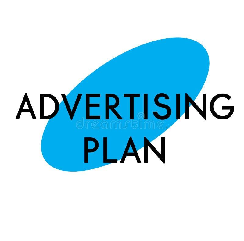 Annonsering av planet som annonserar klistermärken vektor illustrationer