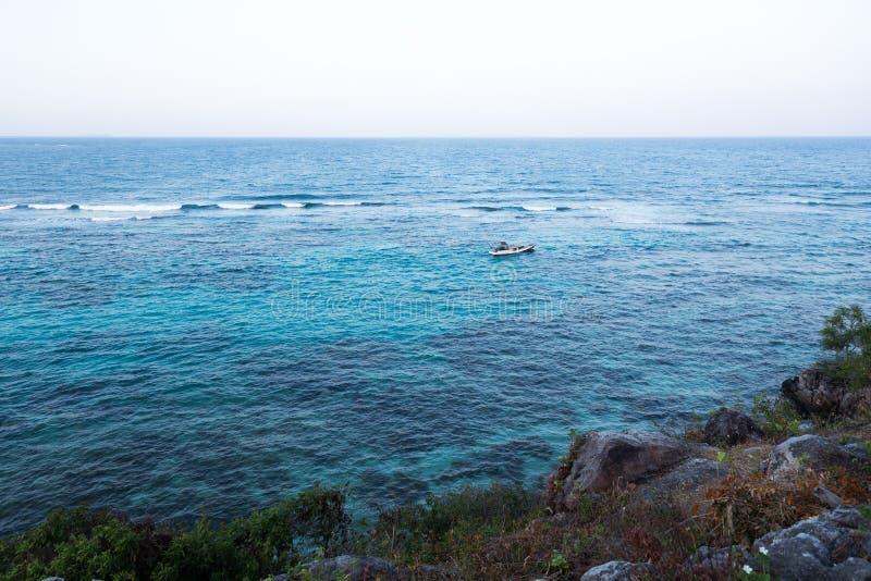 Annora strand Karimun Jawa royaltyfri bild