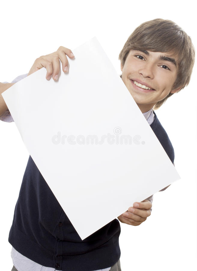 Download The announcement stock image. Image of metaphor, suit - 24052629