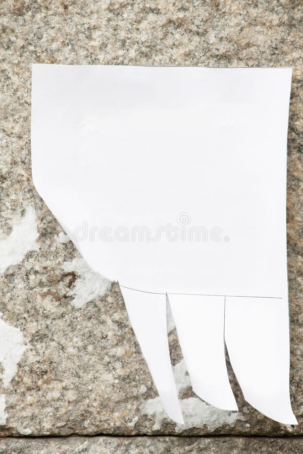Download Announcement stock image. Image of adhesive, contact - 26545635