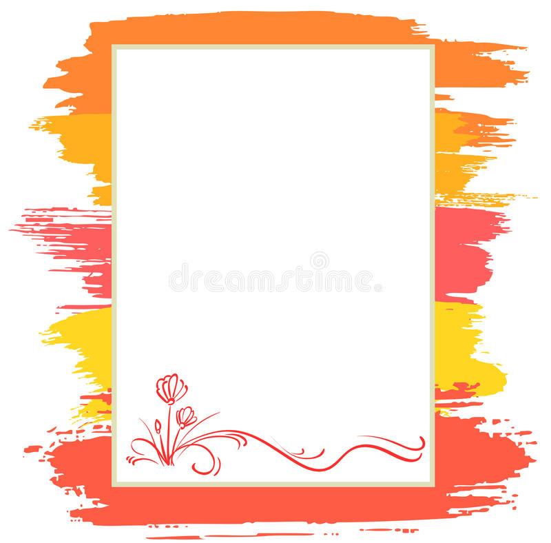 Announcement Background Royalty Free Stock Photo