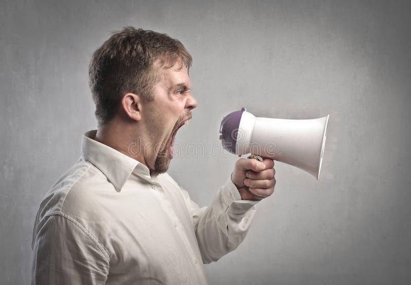 Download Announcer stock image. Image of speak, work, quarrel - 25326201