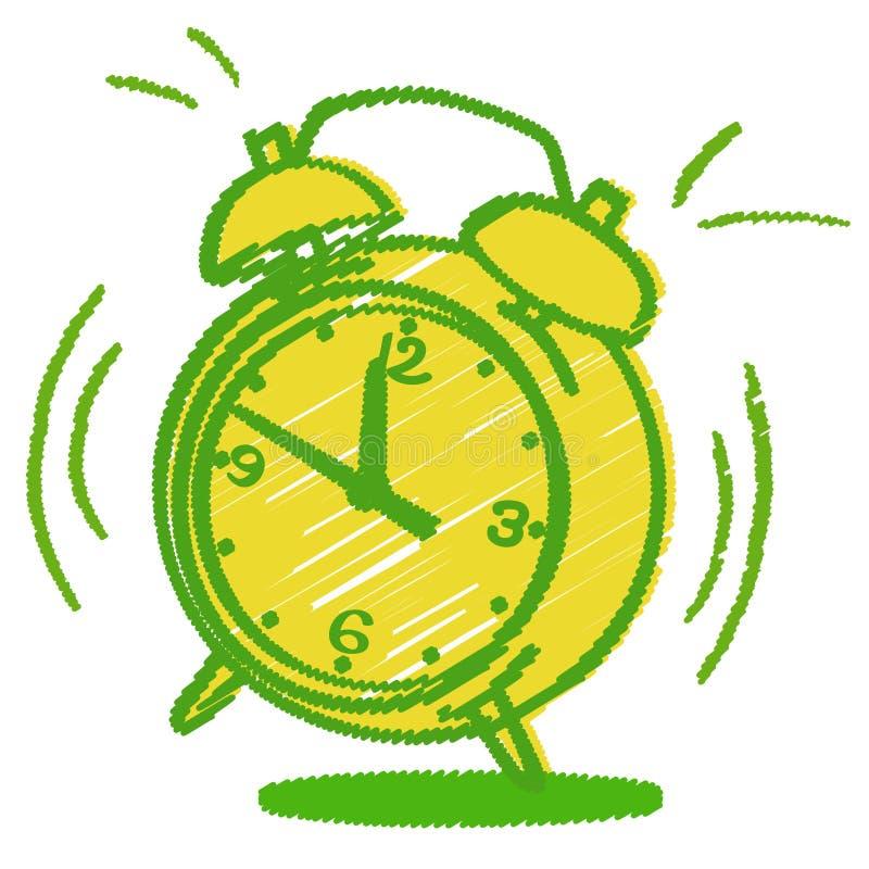 Free Annoying Alarm Clock Royalty Free Stock Photo - 30185325