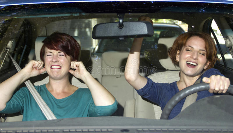 Annoying Driver royalty free stock images