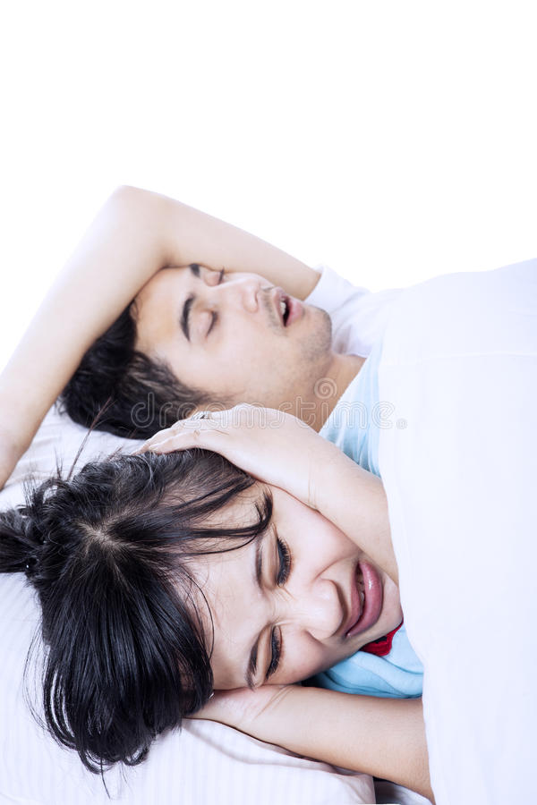 Download Annoying Snore Of A Husband Stock Image - Image: 30458765