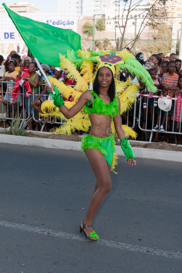 Download The Annual Carnival In Cape Verde 2011 Editorial Stock Photo - Image: 18723073