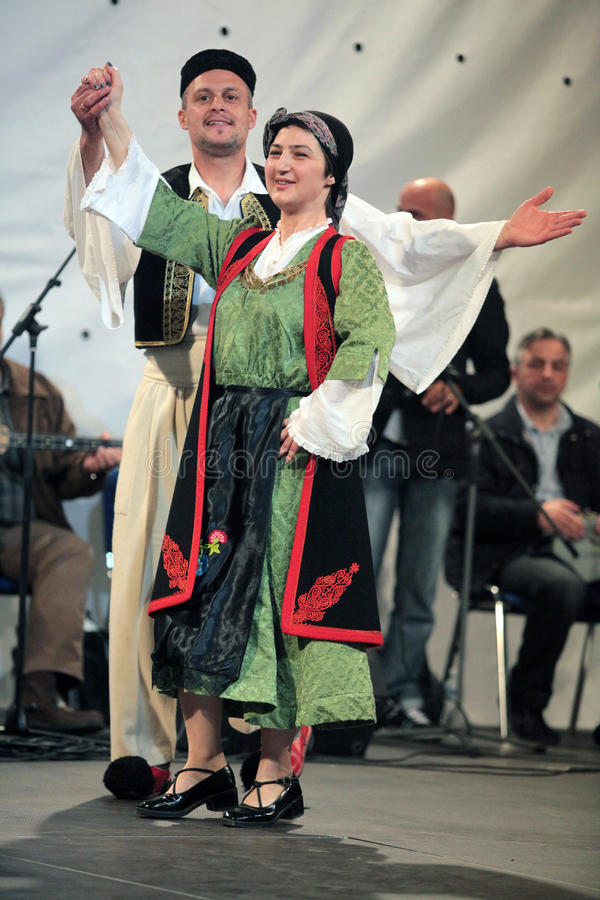 Download Annual Event With Traditional Dance Editorial Stock Photo - Image: 20052668
