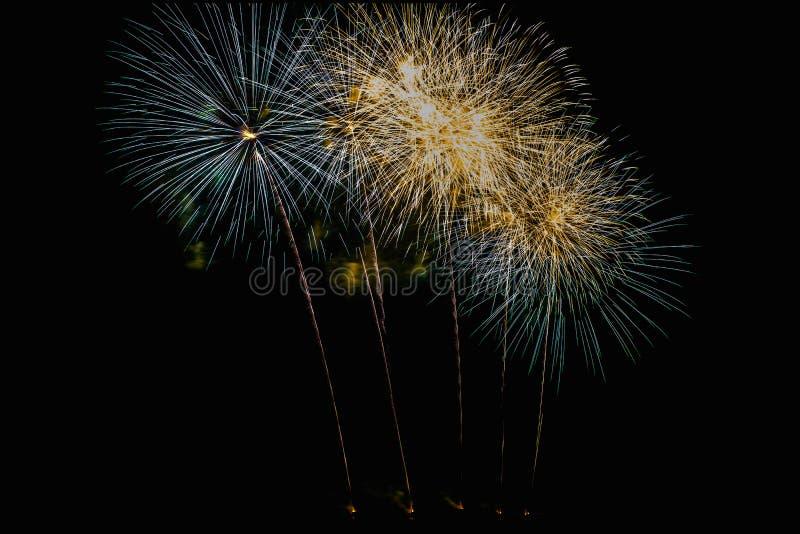 Annual International Fireworks Festival stock photos