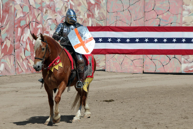 International Jousting Competition. The annual Longs Peak Scottish Irish Highlands Festival is a popular event in Estes Park, Colorado, USA. It attracts royalty free stock photo