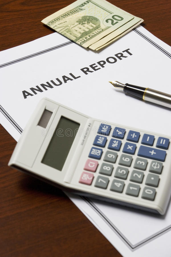 Download Annual Report stock image. Image of status, accounts - 10143139