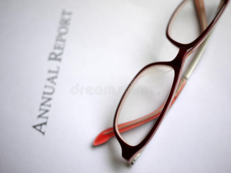 Annual Report Royalty Free Stock Image