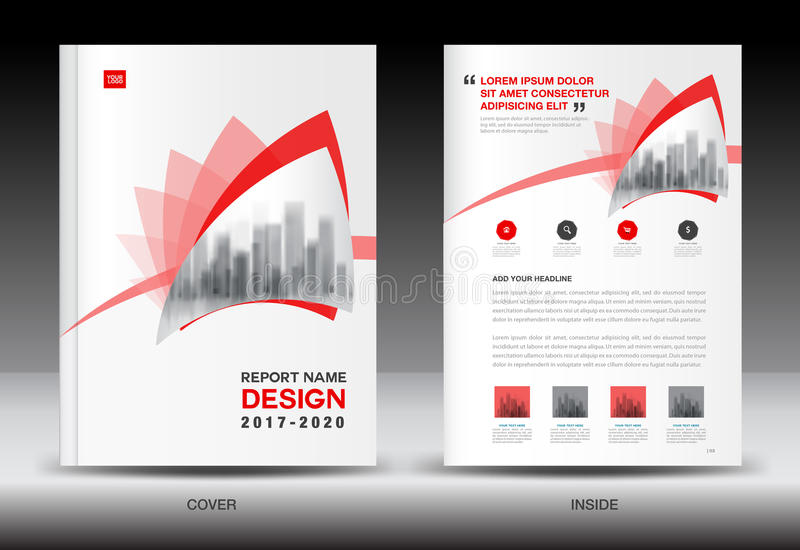 Annual report brochure flyer template red cover design stock vector download annual report brochure flyer template red cover design stock vector illustration of leaflet saigontimesfo