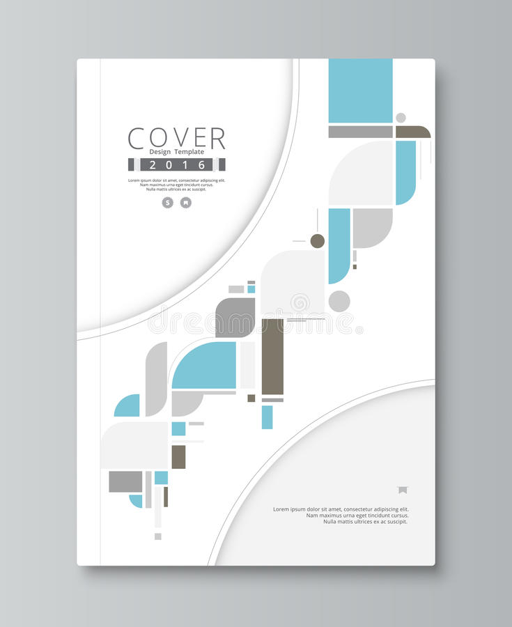 Annual report cover design. book, brochure template with sample. Text. vector stock vector illustration