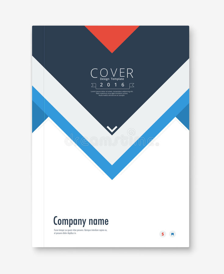 Annual Report Cover Design Book Brochure Template With Sample