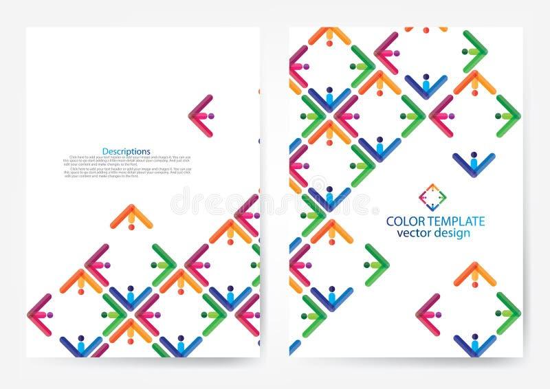 Annual report cover design. Annual report cover business design vector illustration