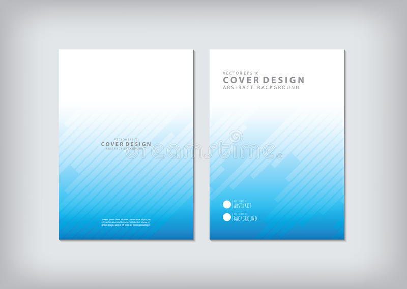 The annual report covers the business and graphic shapes like ba. R graphs oblique angle vector royalty free illustration