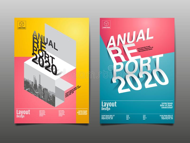 Annual Report 2018,2019,2020 ,future, Business, Template Layout