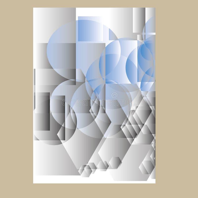Annual report Leaflet Brochure Flyer template design royalty free illustration