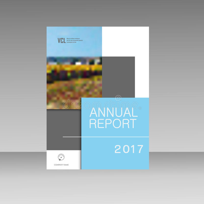 Annual report Leaflet Brochure Flyer template A4 size design, book cover, Abstract presentation templates.  royalty free illustration
