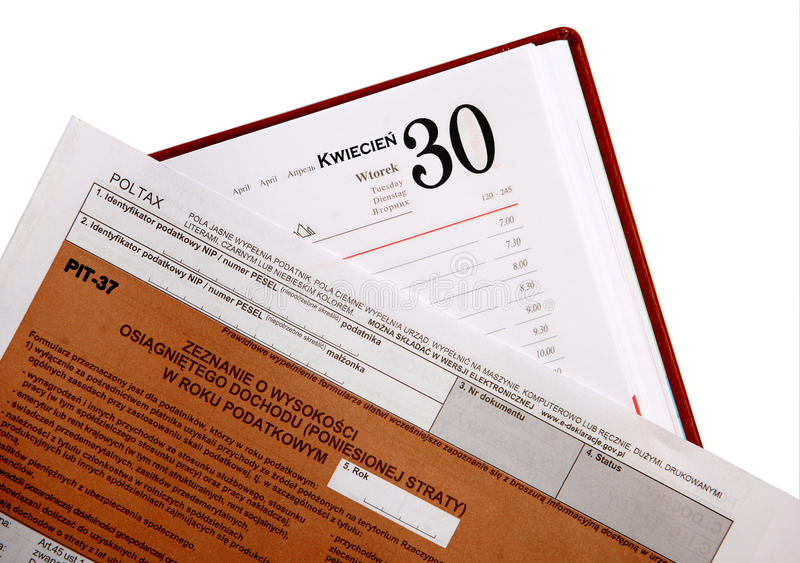 Download Annual tax , PIT stock photo. Image of paperwork, payer - 29634346