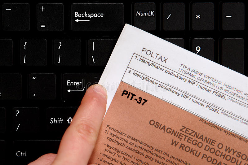 Download Annual Tax , PIT Royalty Free Stock Photos - Image: 29639128