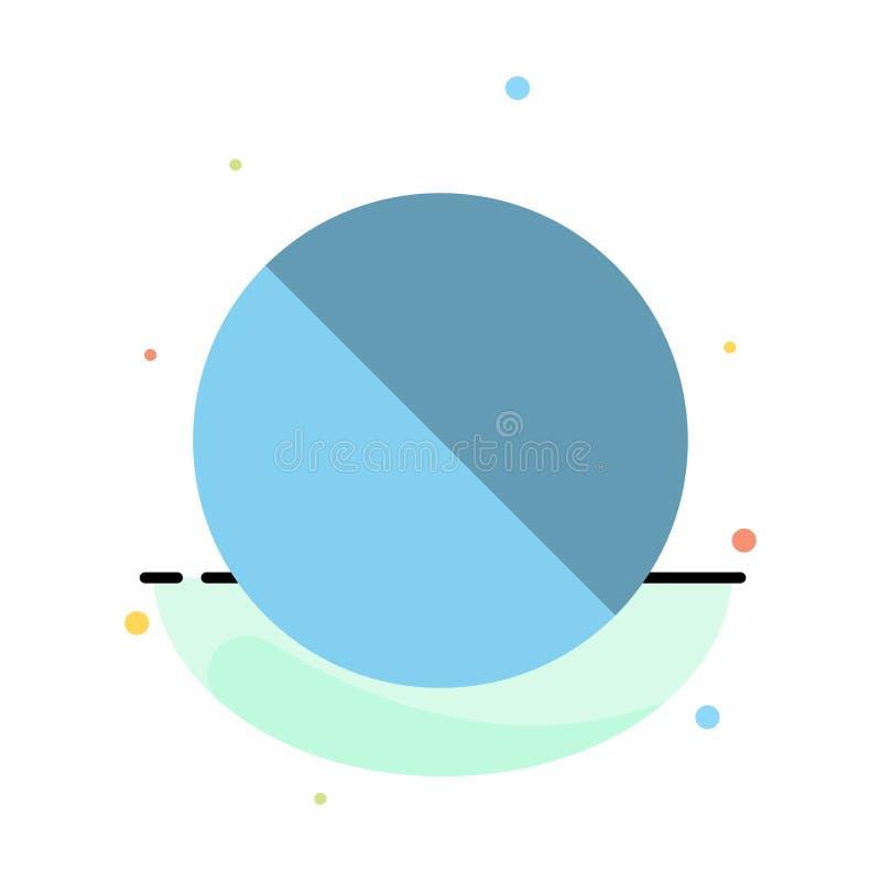 Annulation, interdite, non, calibre plat abstrait interdit d'icône de couleur illustration libre de droits