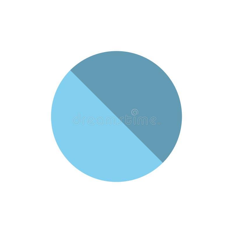 Annulation, interdite, non, icône plate interdite de couleur Calibre de bannière d'icône de vecteur illustration de vecteur