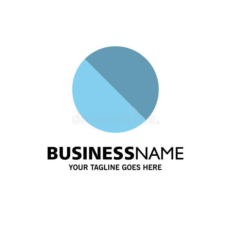 Annullering som är förbjuden, inte, förbjuden affär Logo Template plan f?rg royaltyfri illustrationer
