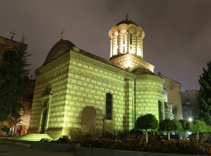 Annuncian-Kirche in Bukarest stockfotos