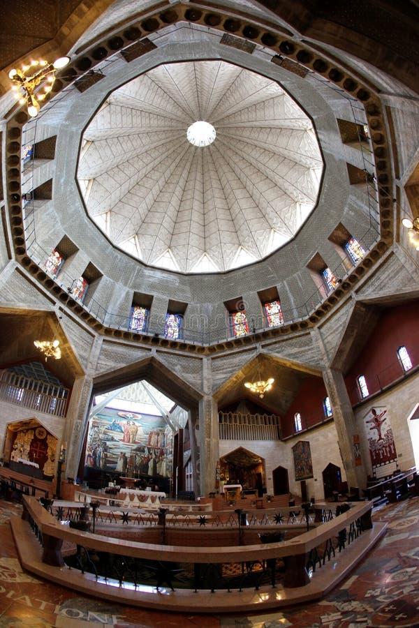 annunciation θόλος εκκλησιών βασι&l στοκ εικόνα