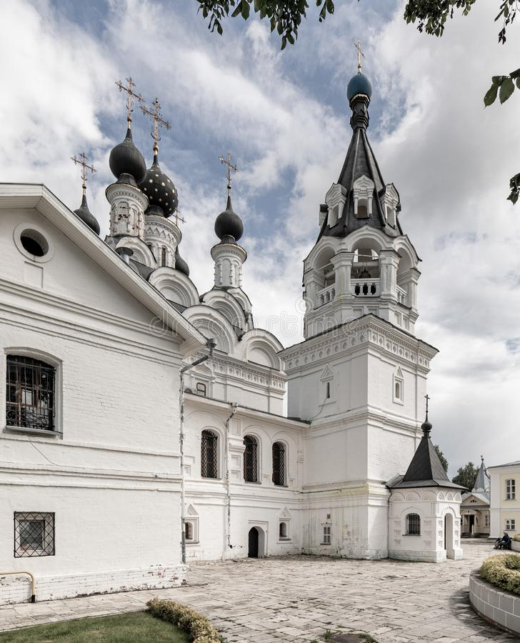 Annunciation μοναστήρι Murom, Ρωσία Καθεδρικός ναός Annunciation της ευλογημένης Virgin Mary στο Annunciation μοναστήρι στοκ εικόνα