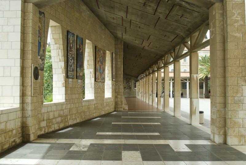 annunciation bazylika Nazareth obraz royalty free