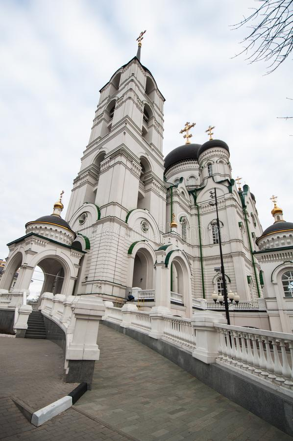 Annunciation Cathedral, Voronezh royalty free stock photo
