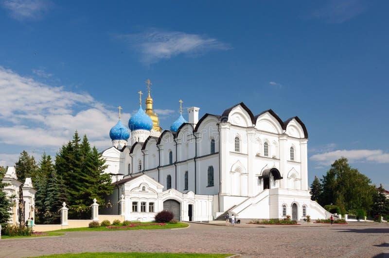 Annunciation katedra główny Ortodoksalny kościół Kazan, Tatarstan republika fotografia royalty free