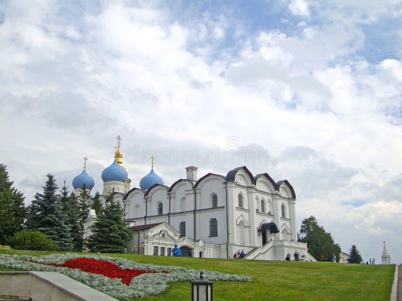 Annunciation katedra Kazan Kremlin zdjęcia stock
