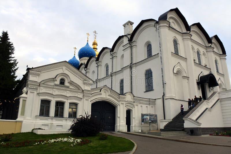 annunciation katedralny Kazan Kremlin obraz stock