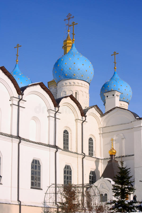 The Annunciation's cathedral XVI-XVIII centuries stock image