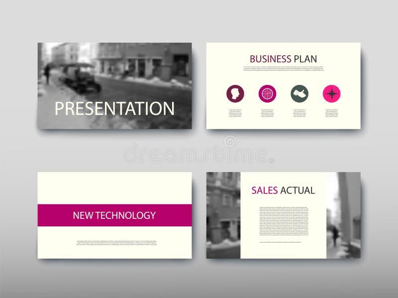Annuncio di proposta dell'insieme di progettazione moderna di affari di informazioni di infographics del manifesto royalty illustrazione gratis