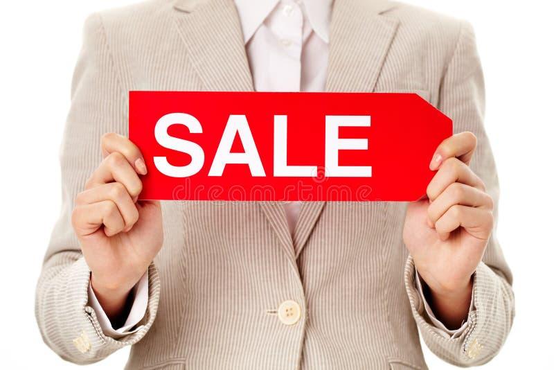 Annuncio di vendita immagine stock libera da diritti