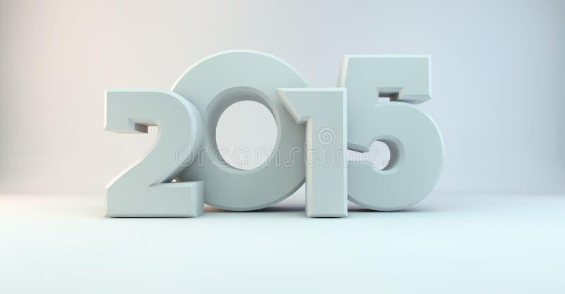 Ano de 2015 foto de stock