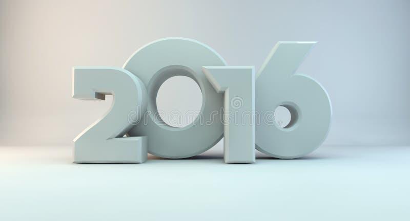 Ano de 2016 imagem de stock