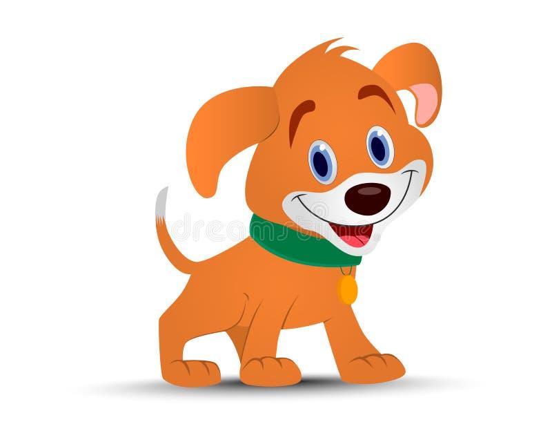 Ano do cão ilustração stock