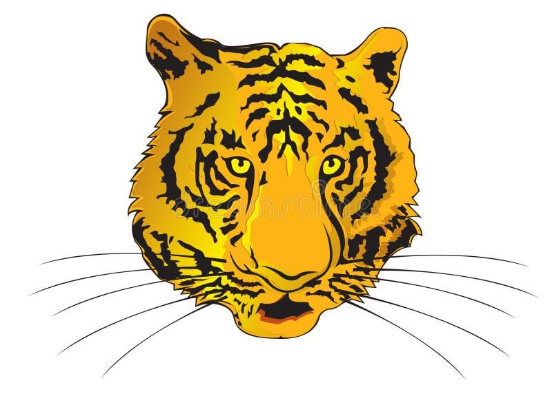 Ano do zodíaco do tigre ilustração do vetor